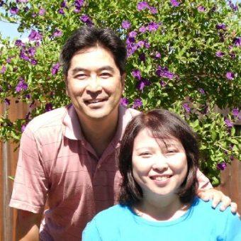 Pic of Takashi and Kyoko