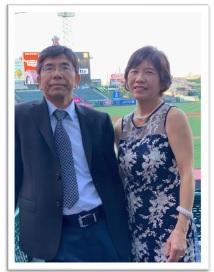 Tony and Etsuko.Picture
